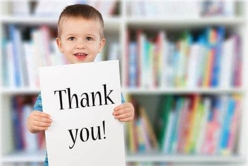 enfant gratitude
